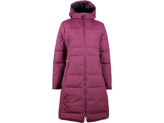 SKHoop Long Down Jacket Dame bordeaux